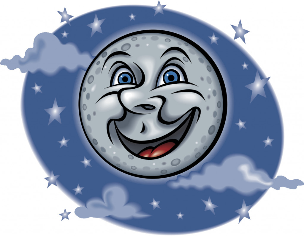 Blue Moon Saturday Night For Halloween and Cold!
